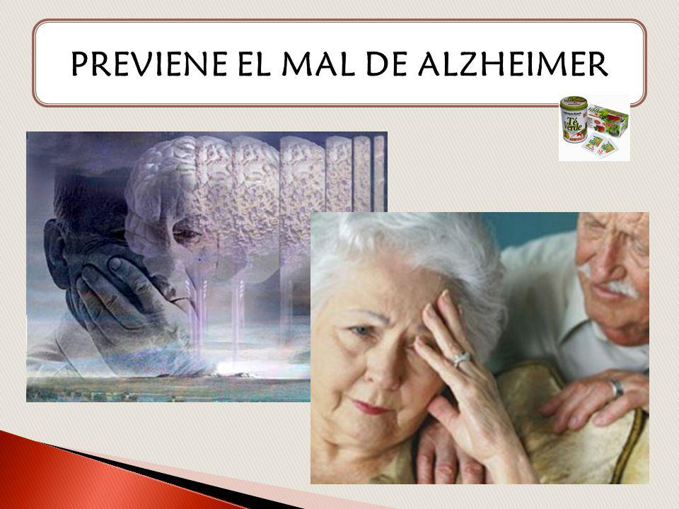 PREVIENE EL MAL DE ALZHEIMER