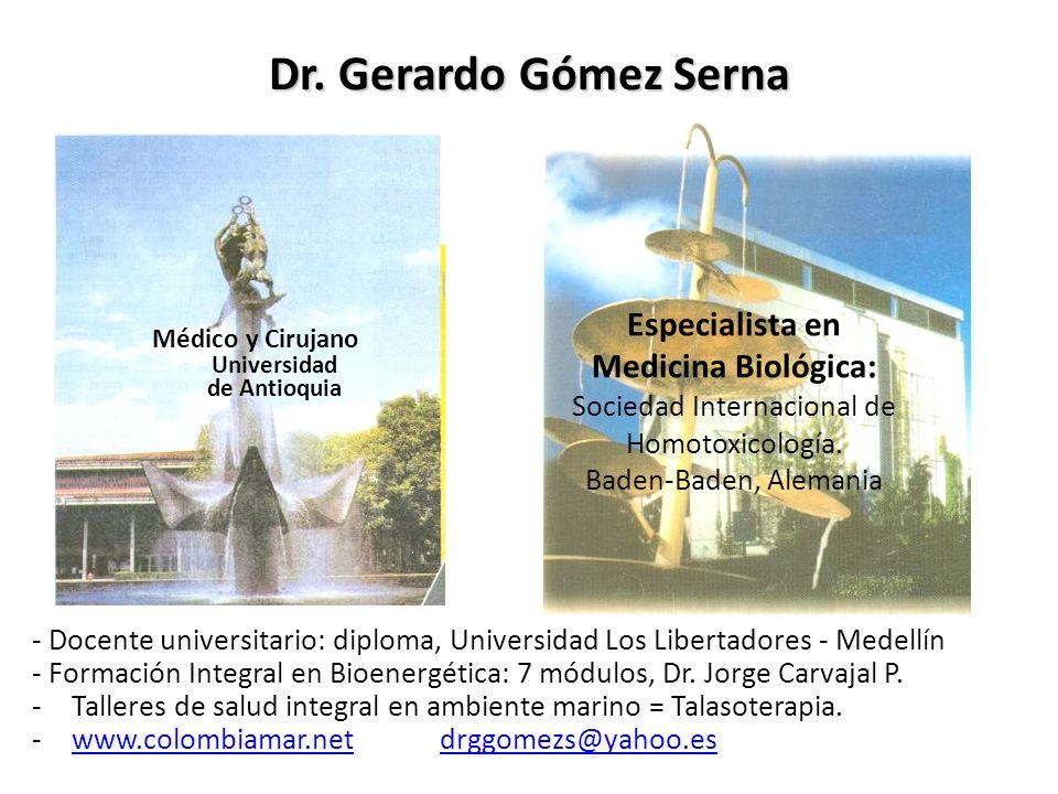 Médico y Cirujano Universidad de Antioquia