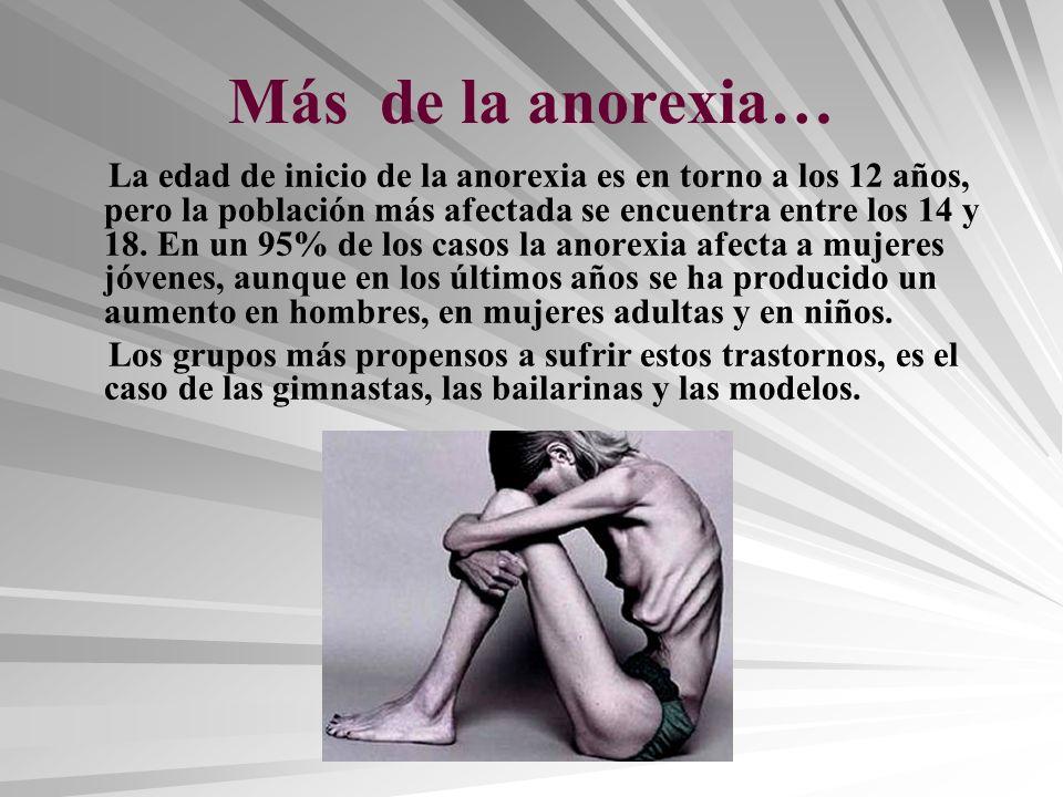 Más de la anorexia…