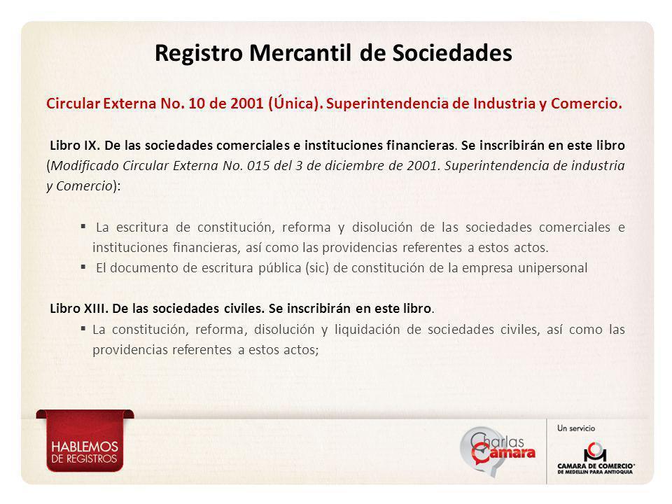 Registro Mercantil de Sociedades