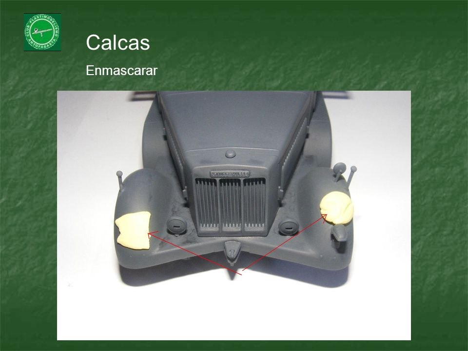 Calcas Enmascarar