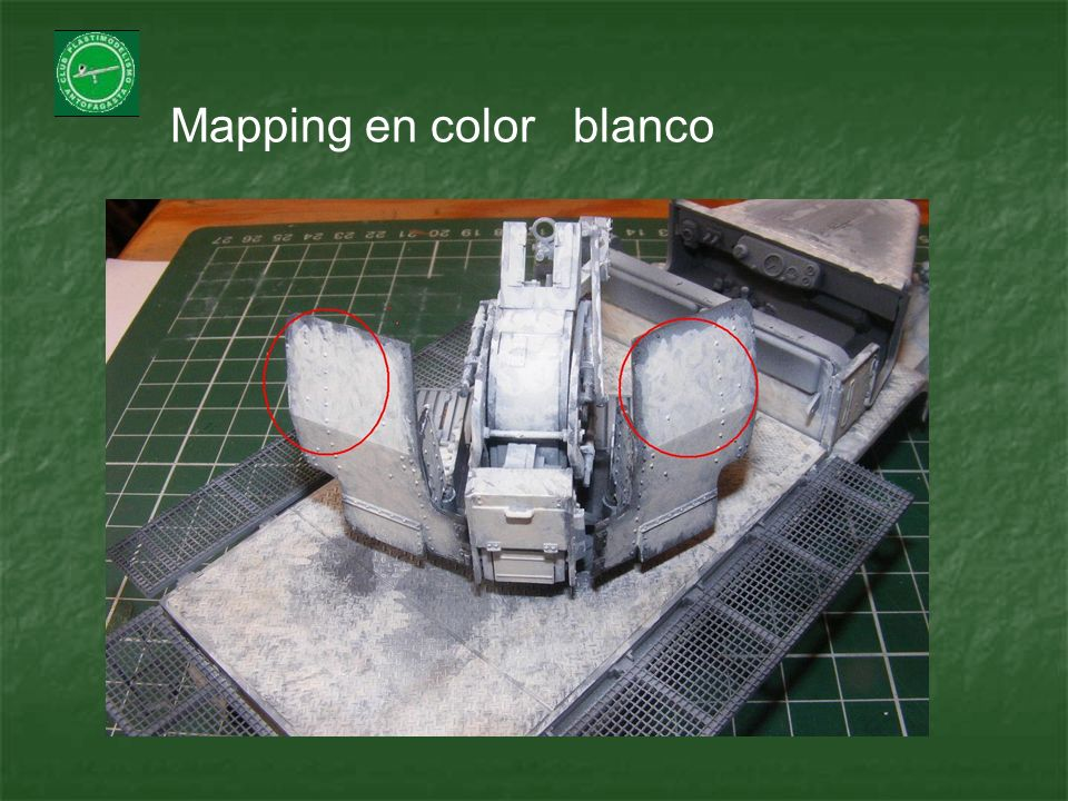 Mapping en color blanco