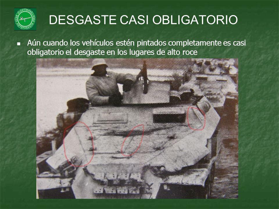 DESGASTE CASI OBLIGATORIO