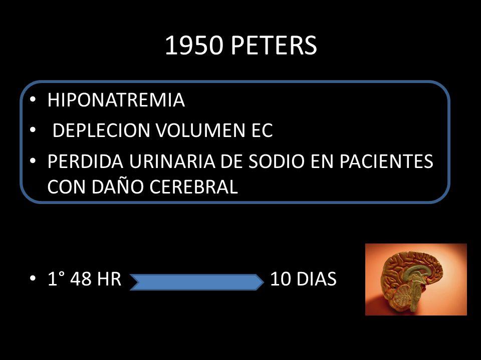 1950 PETERS HIPONATREMIA DEPLECION VOLUMEN EC