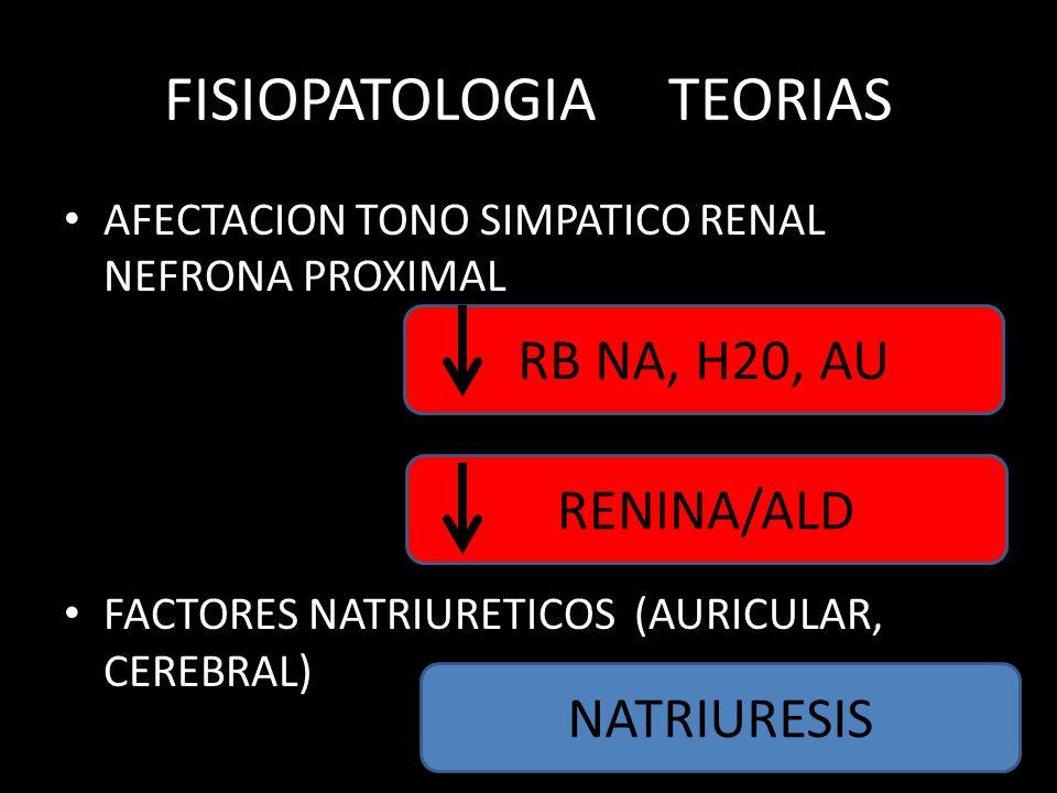 FISIOPATOLOGIA TEORIAS