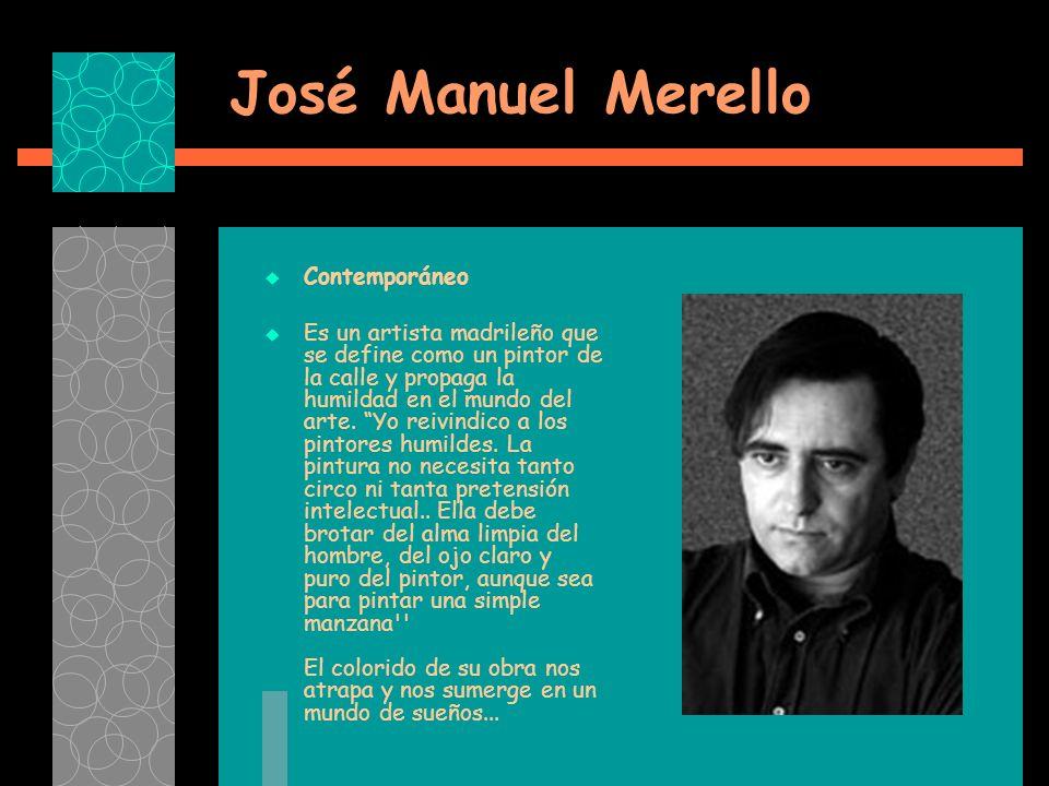 José Manuel Merello Contemporáneo