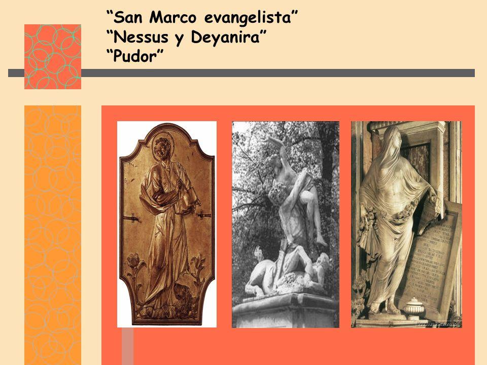 San Marco evangelista Nessus y Deyanira Pudor