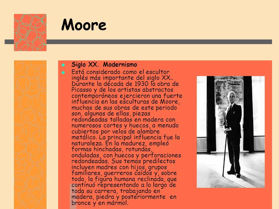 Moore Siglo XX. Modernismo