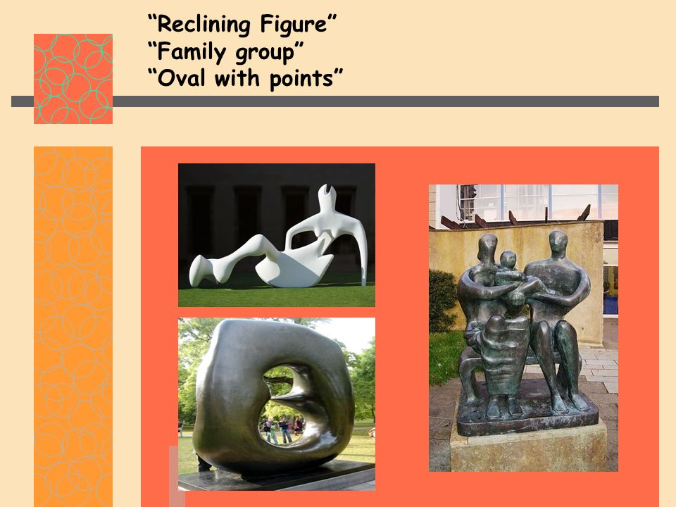 Reclining Figure Family group Oval with points