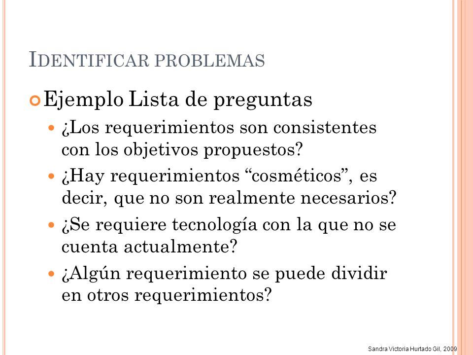 Identificar problemas