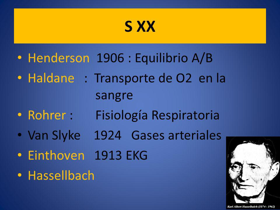 S XX Henderson 1906 : Equilibrio A/B