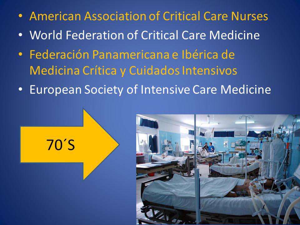 70´S American Association of Critical Care Nurses