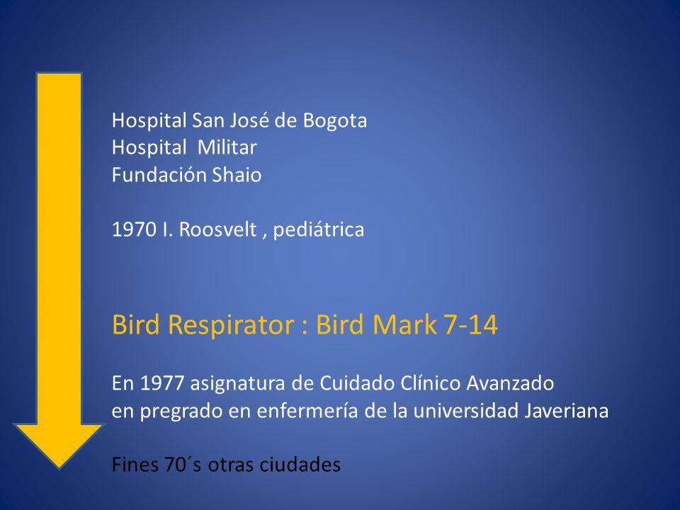 Bird Respirator : Bird Mark 7-14