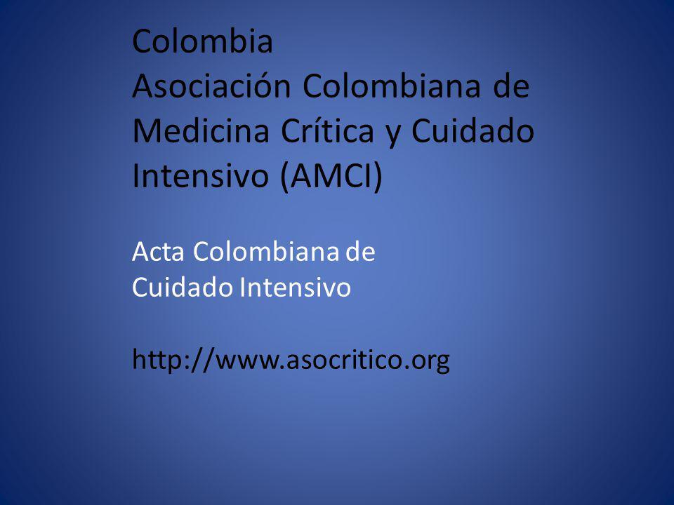 Asociación Colombiana de Medicina Crítica y Cuidado Intensivo (AMCI)