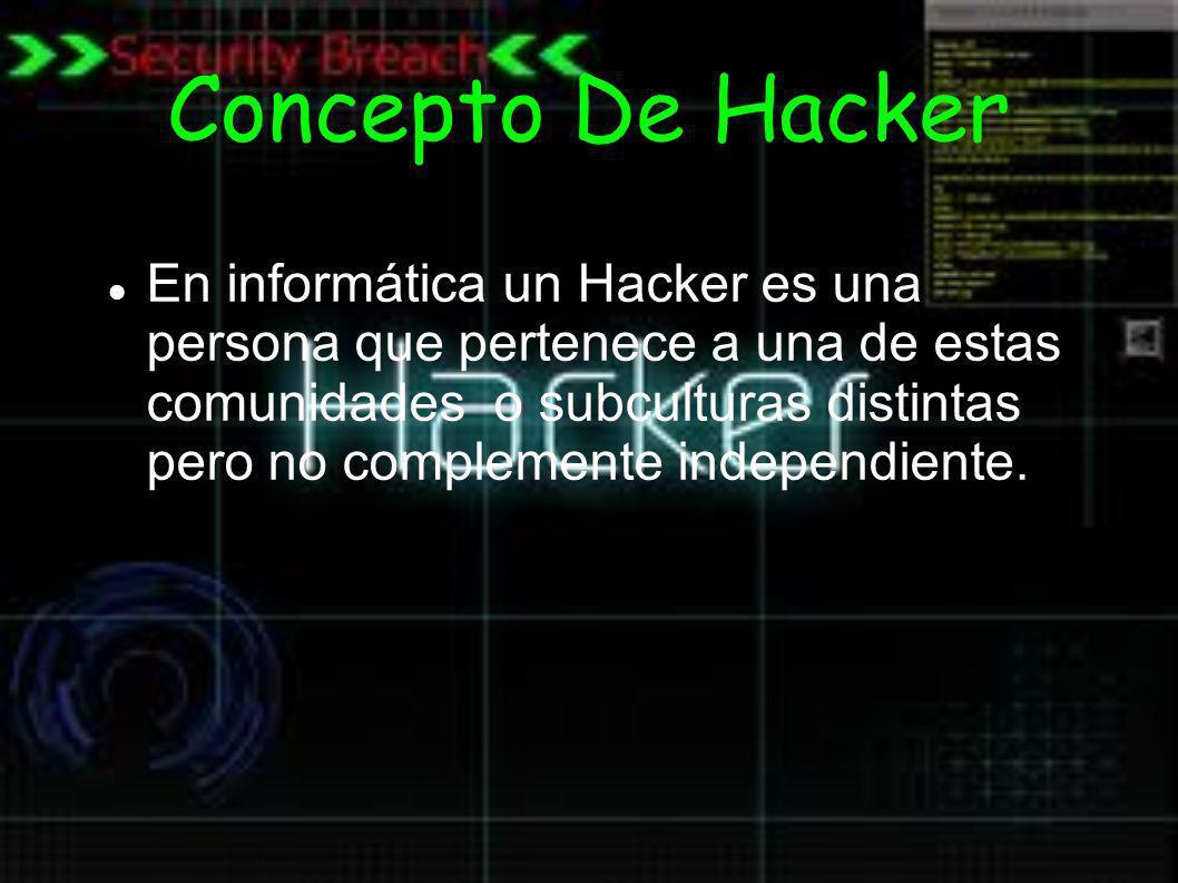 Concepto De Hacker