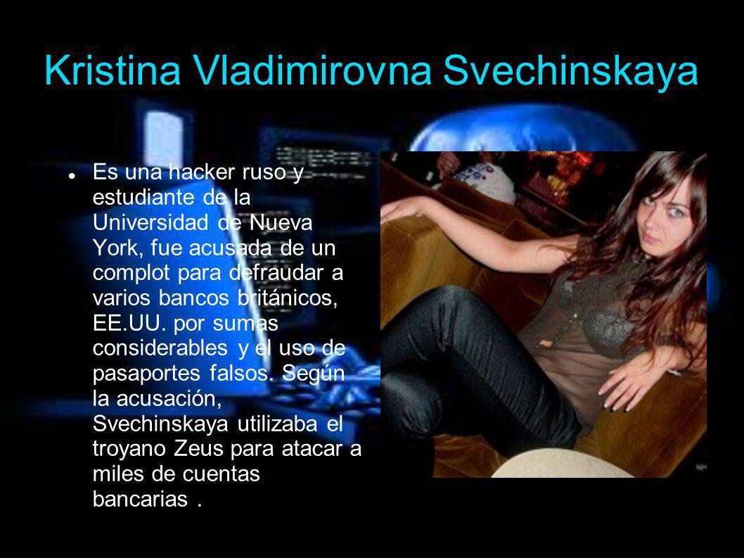 Kristina Vladimirovna Svechinskaya