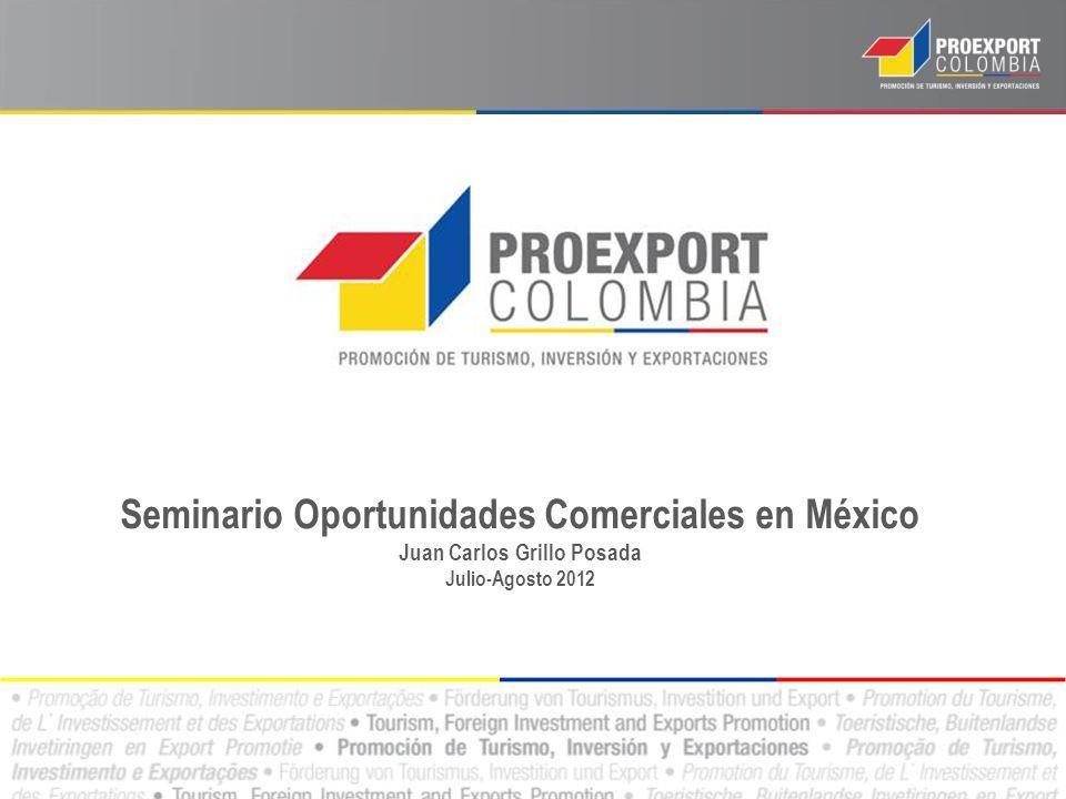 Seminario Oportunidades Comerciales en México