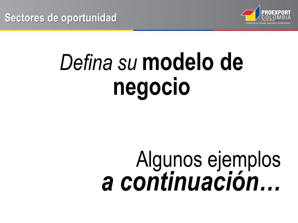 Defina su modelo de negocio