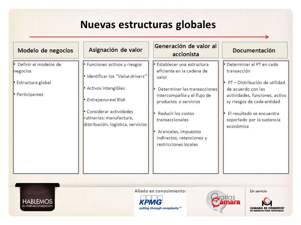 Nuevas estructuras globales