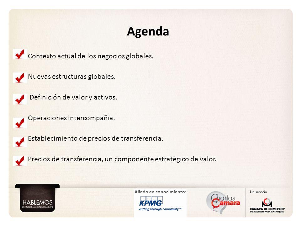 Agenda Contexto actual de los negocios globales.