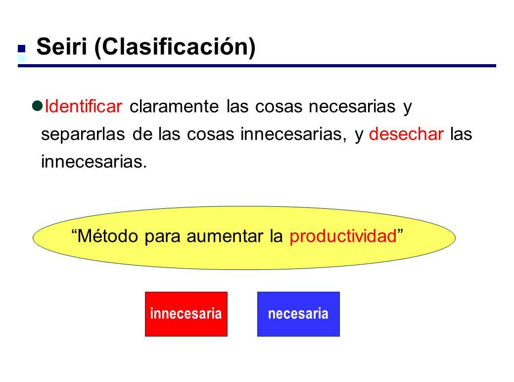 Seiri (Clasificación)