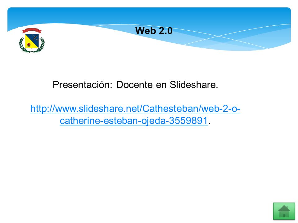 Presentación: Docente en Slideshare.
