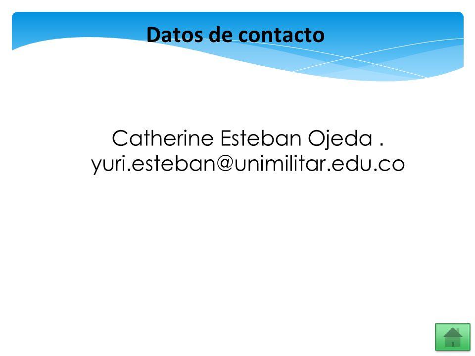 Catherine Esteban Ojeda .