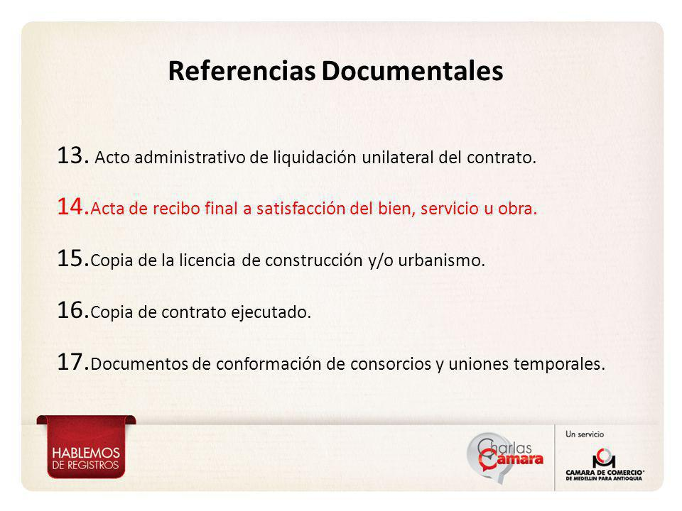 Referencias Documentales