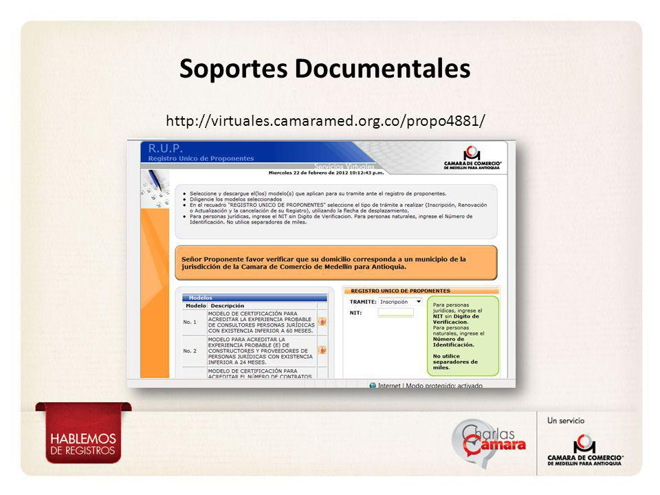 Soportes Documentales