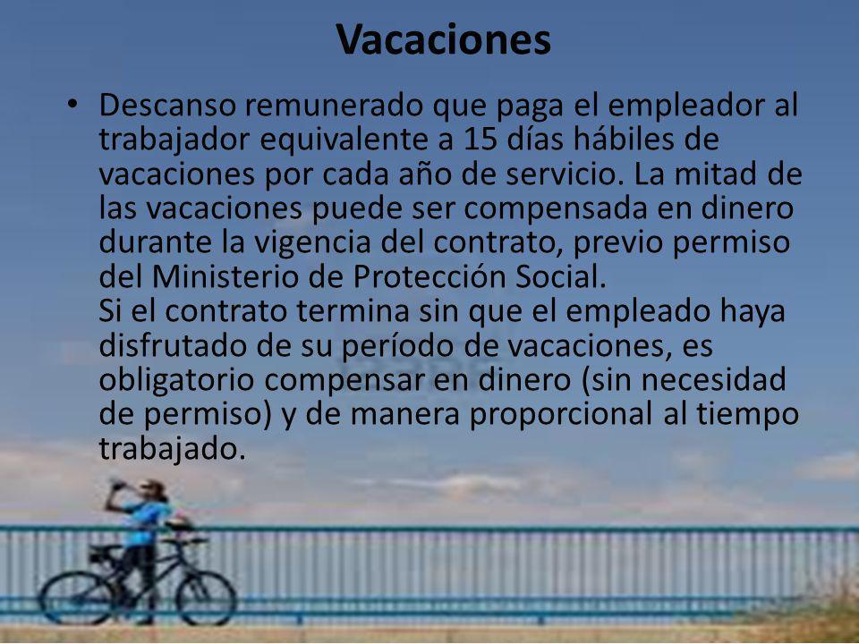 Vacaciones Vacaciones