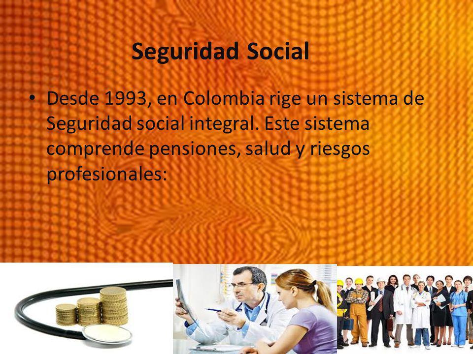 Seguridad Social Seguridad Social