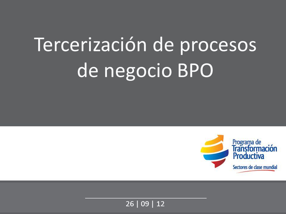 Tercerización de procesos de negocio BPO