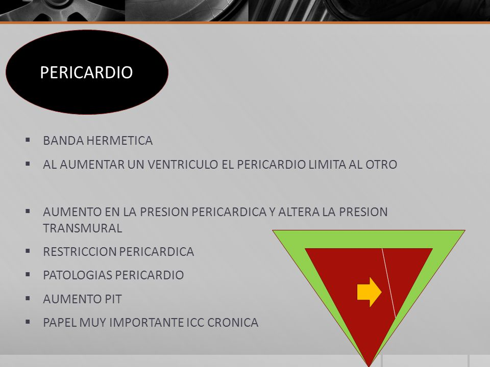 PERICARDIO BANDA HERMETICA