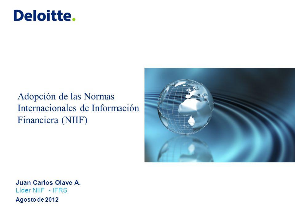 Implementación de NIIF en el mundo