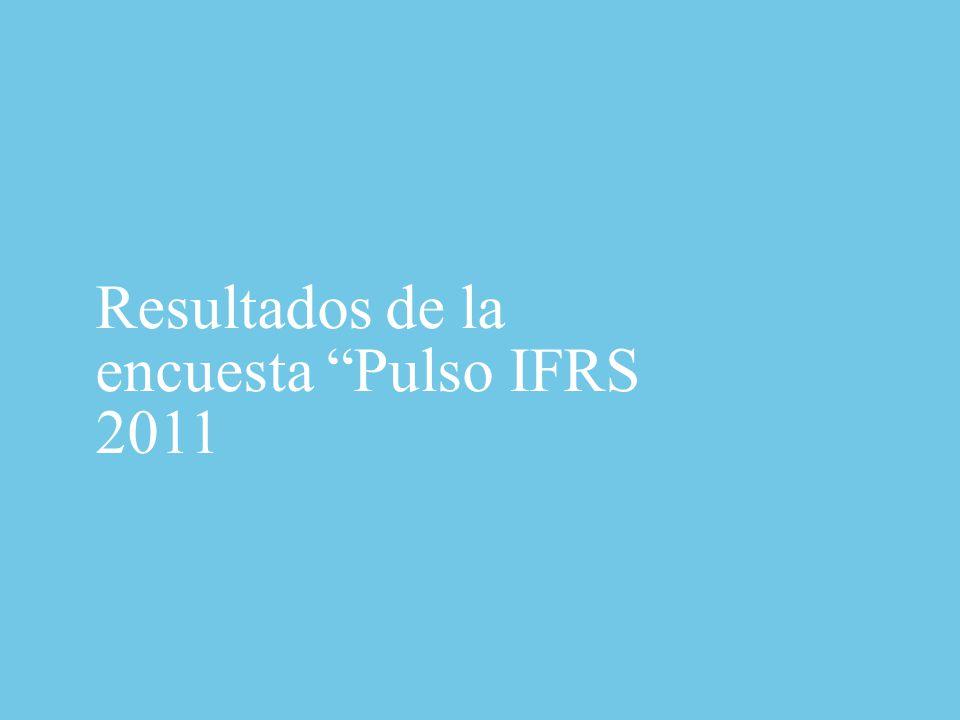 Perfil de los participantes Pulso IFRS 2011