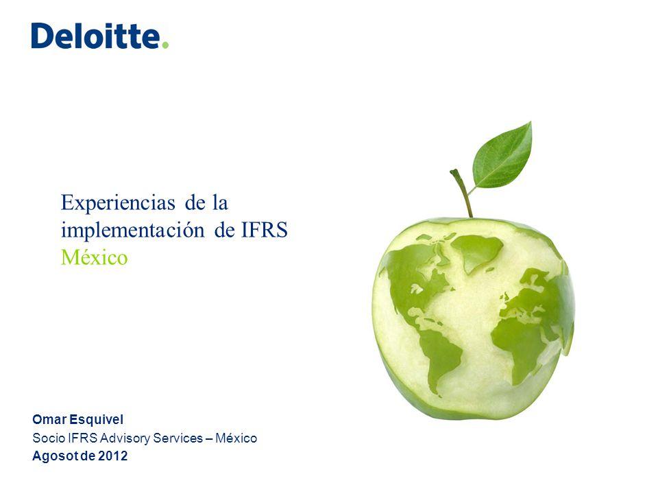 Aplicabilidad de IFRS en México