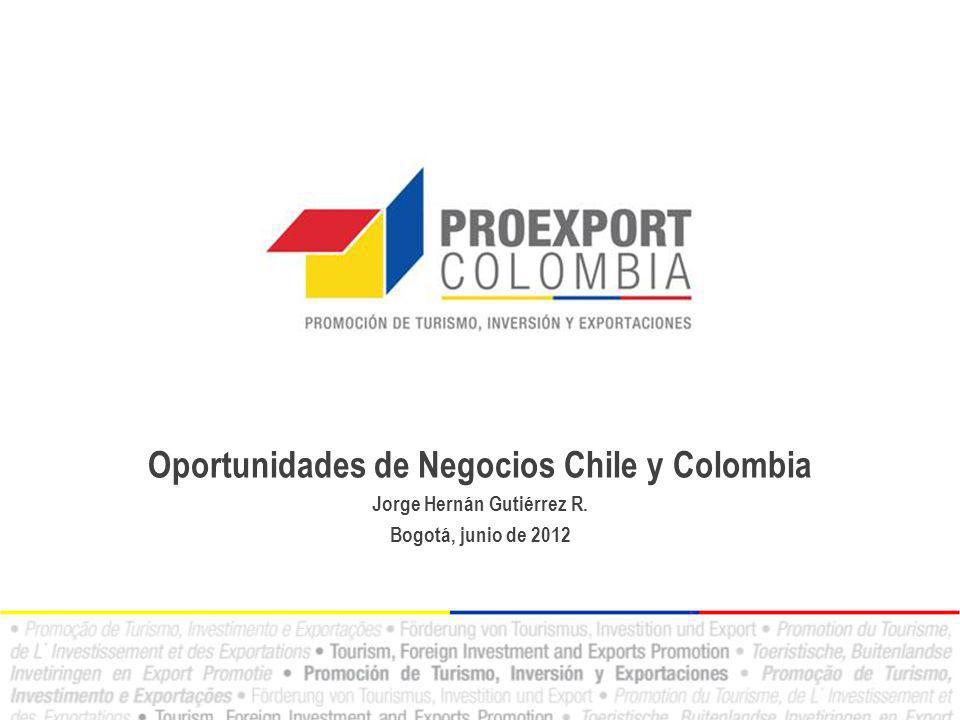 Oportunidades de Negocios Chile y Colombia Jorge Hernán Gutiérrez R.