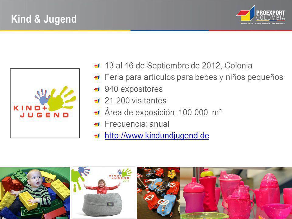 Kind & Jugend 13 al 16 de Septiembre de 2012, Colonia