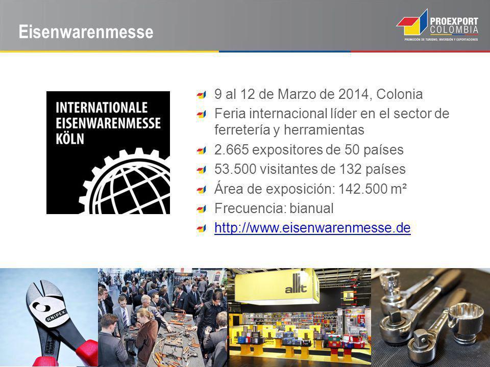 Eisenwarenmesse 9 al 12 de Marzo de 2014, Colonia