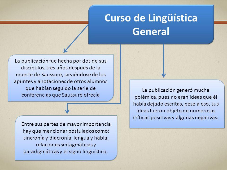 Curso de Lingüística General