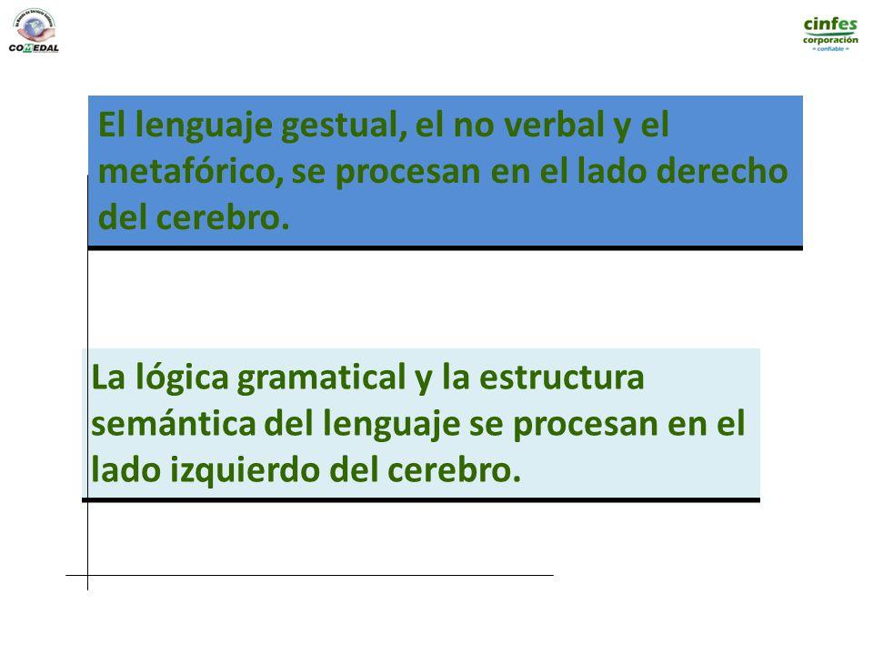El lenguaje gestual, el no verbal y el