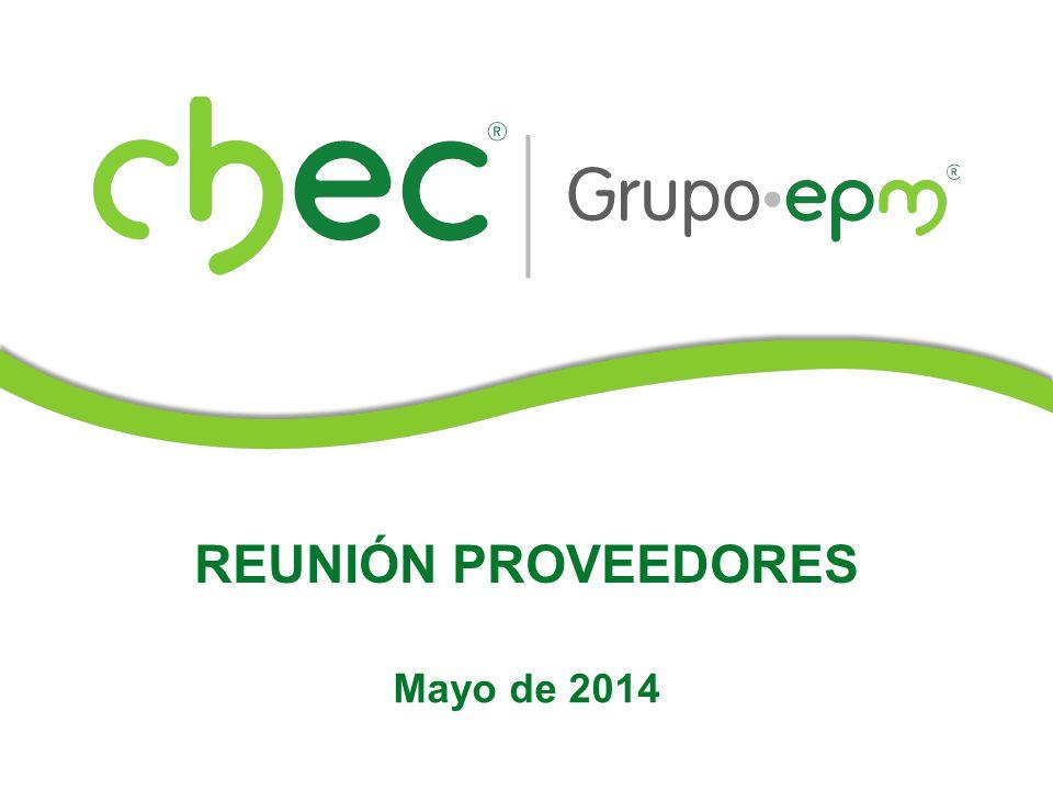 REUNIÓN PROVEEDORES Mayo de 2014