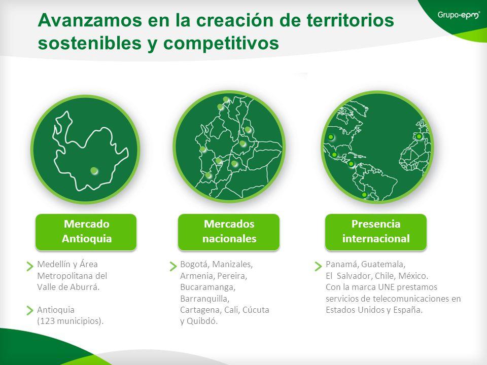 Avanzamos en la creación de territorios sostenibles y competitivos