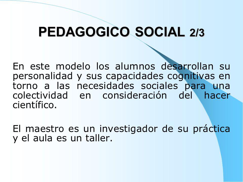 PEDAGOGICO SOCIAL 2/3