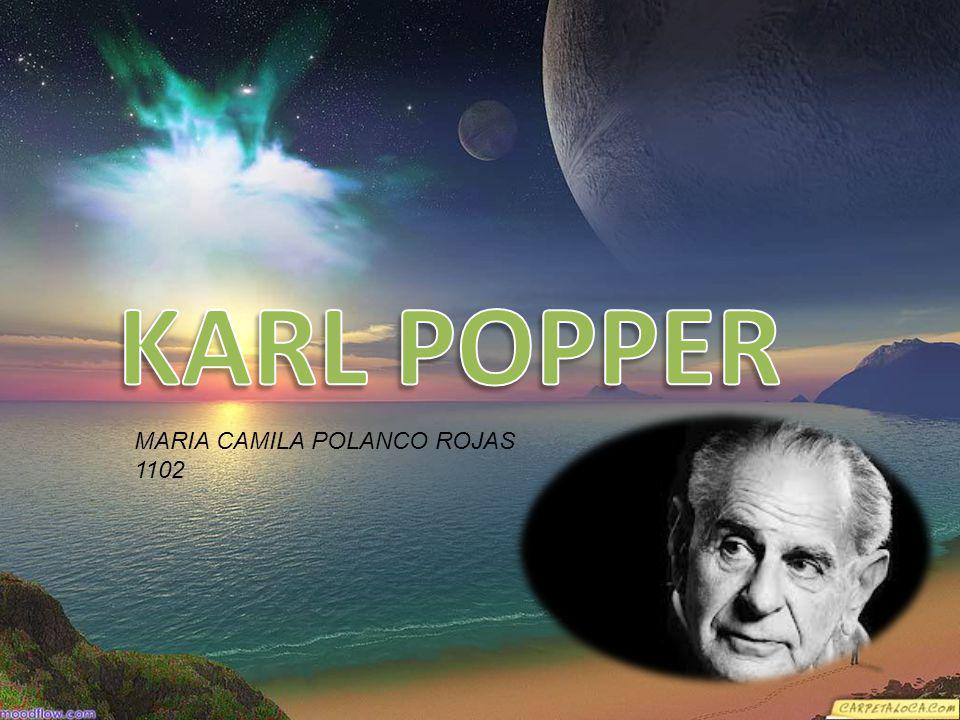 KARL POPPER MARIA CAMILA POLANCO ROJAS 1102