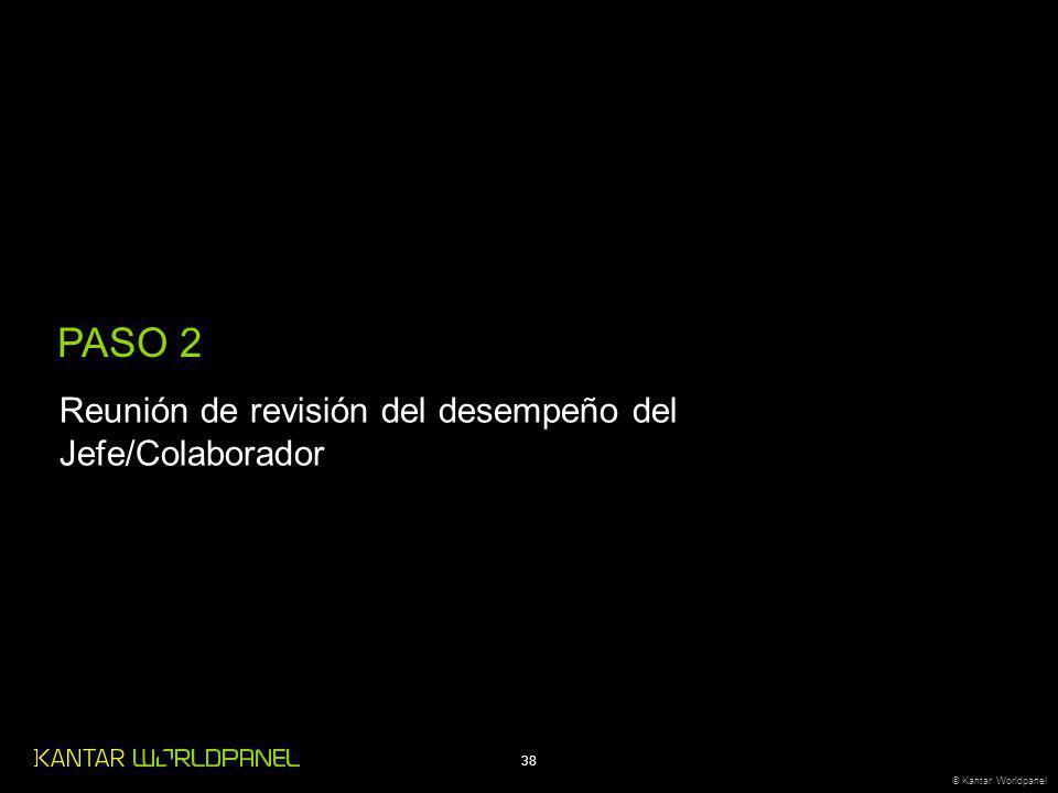 PASO 2 Reunión de revisión del desempeño del Jefe/Colaborador