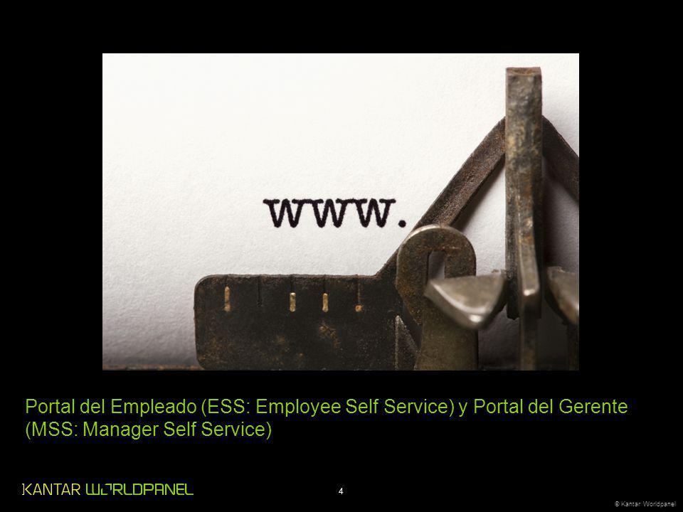 Portal del Empleado (ESS: Employee Self Service) y Portal del Gerente (MSS: Manager Self Service)