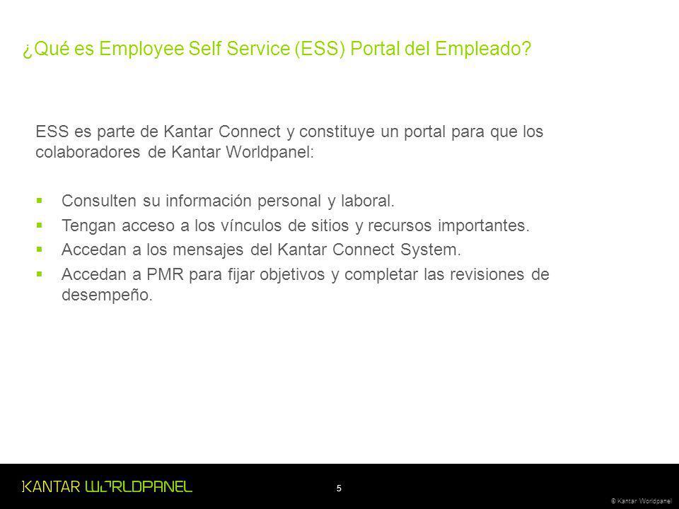 ¿Qué es Employee Self Service (ESS) Portal del Empleado