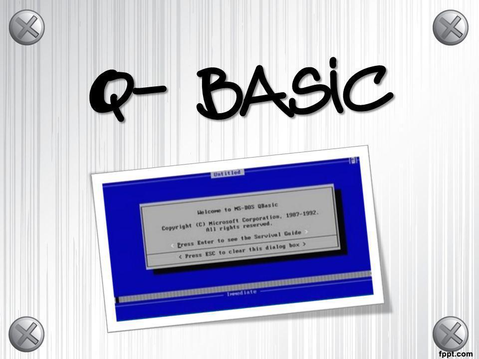 Q- Basic