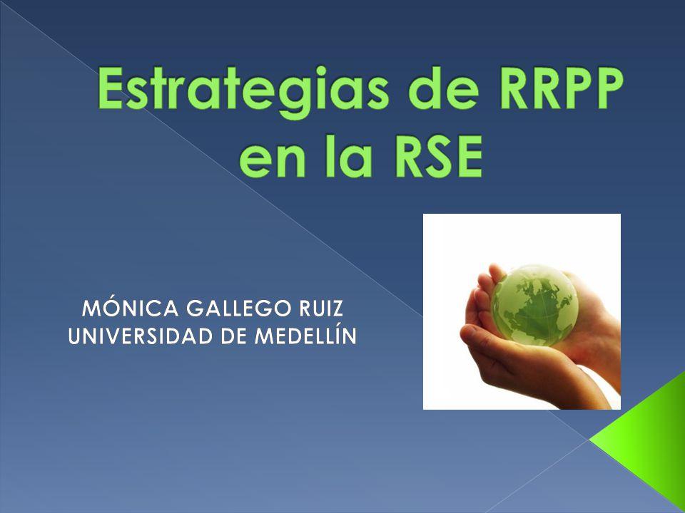 Estrategias de RRPP en la RSE
